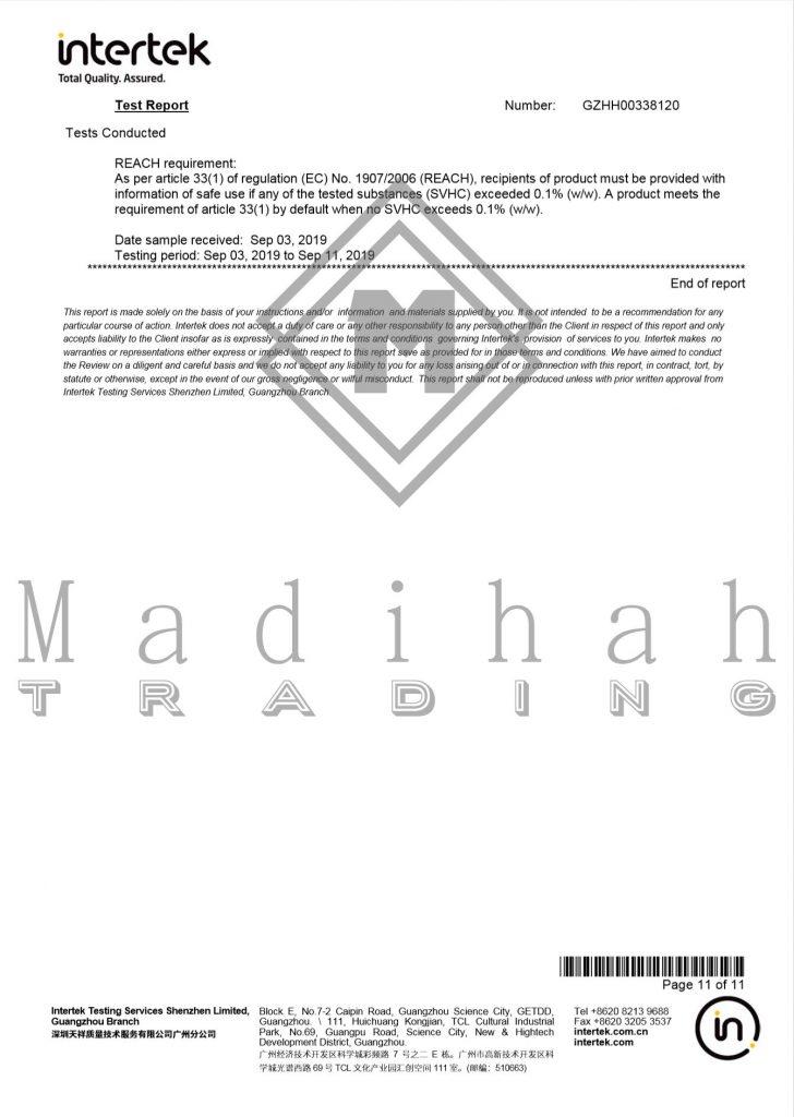 Madihah Lashes intertek test report page3.