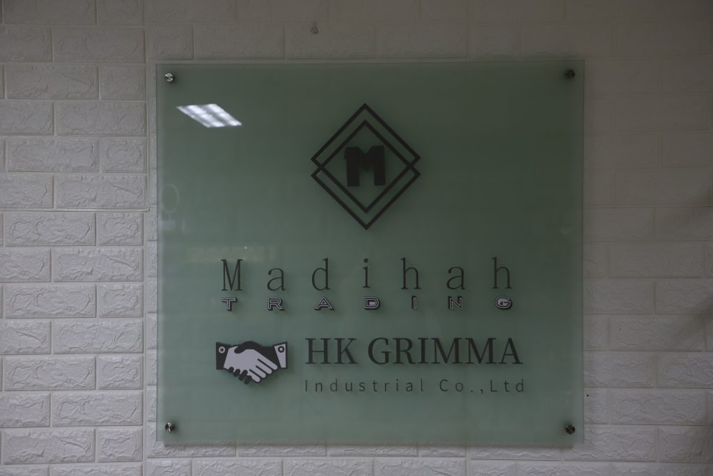 GuangZhou Madihah Trading Co.,Ltd. & HONG KONG GRIMMA INDUSTRIAL CO.,LIMITED.