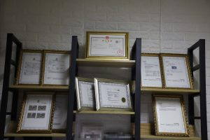 Our International Authority Certificate: Business License, D-U-N-S REGISTERED, intertek REACH SVHC, BUREAU VERITAS, ISO, GMPC.