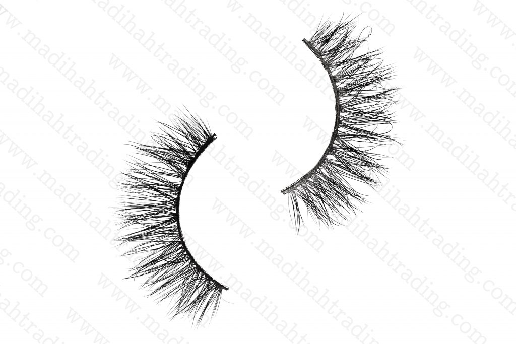 Madihah Trading 13mm 3d real mink lashes 3D-15 details 1