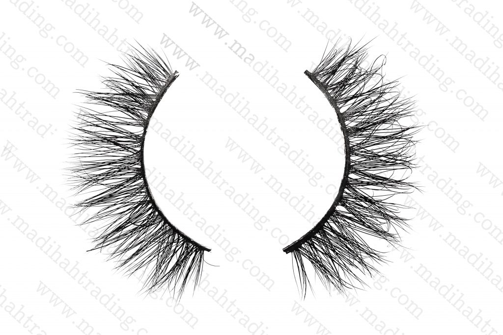 Madihah Trading 13mm 3d real mink lashes 3D-15 details 2.