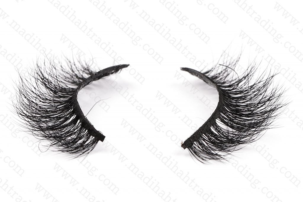 Madihah Trading 13mm 3d real mink lashes 3D-15 details 3