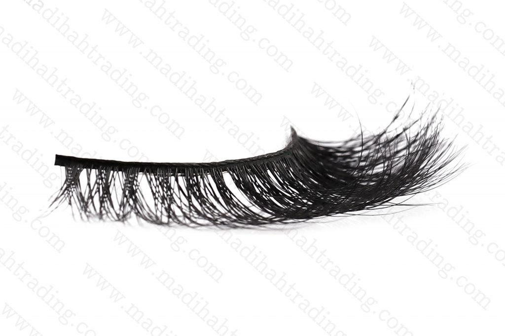 Madihah mink fur eyelashes.