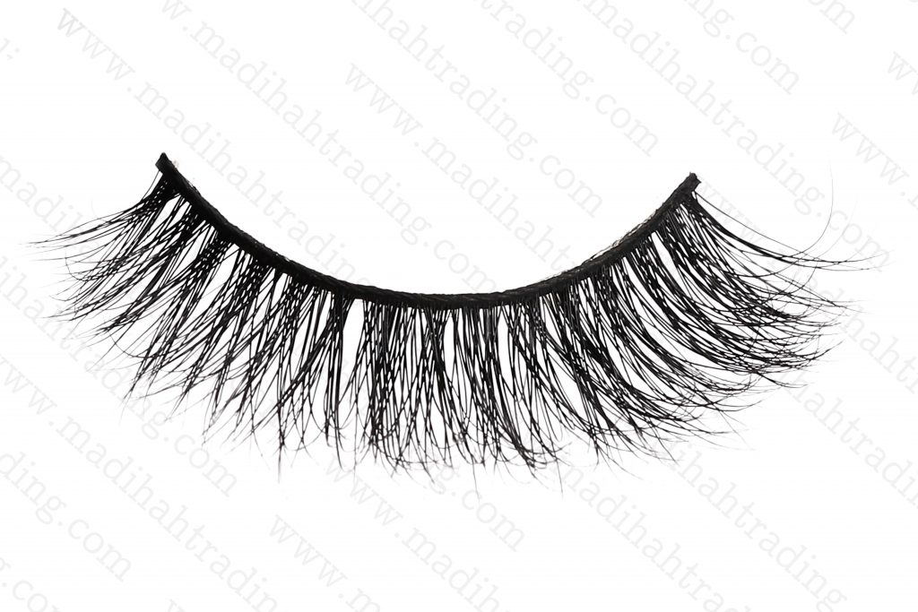 Madihah 3d mink fur eyelashes 3D-28 wholesale.