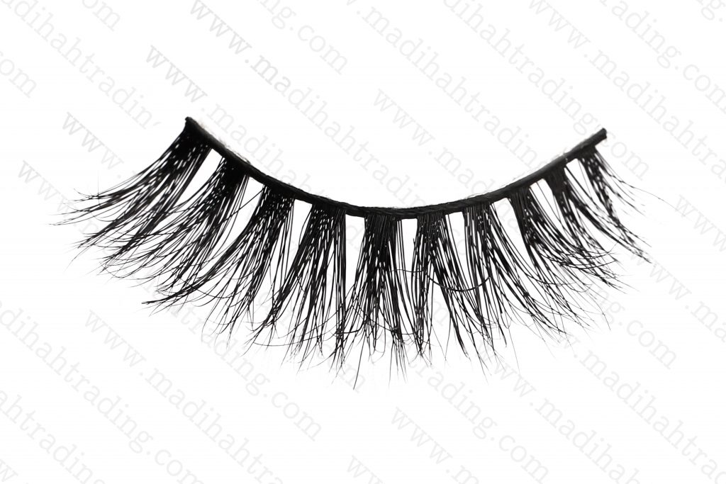 Madihah 3d cruelty free mink lashes 3D-32 wholesale.