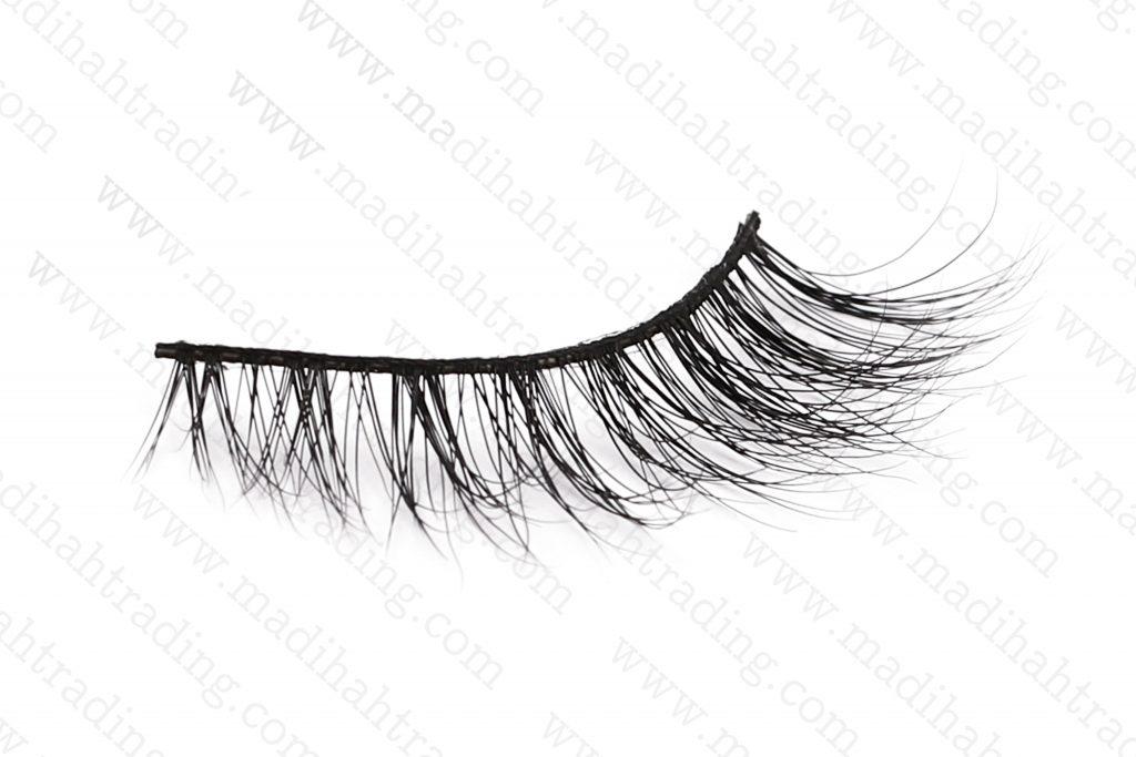 Madihah 11mm real mink eyelashes 3D-04 wholesale.