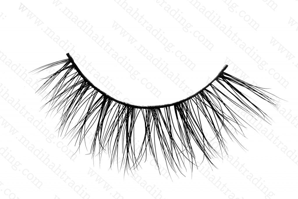 Madihah 11mm real mink eyelashes 3D-04.