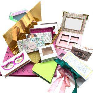 Madihah Trading premium mink lashes wholesale custom eyelashes packaging.