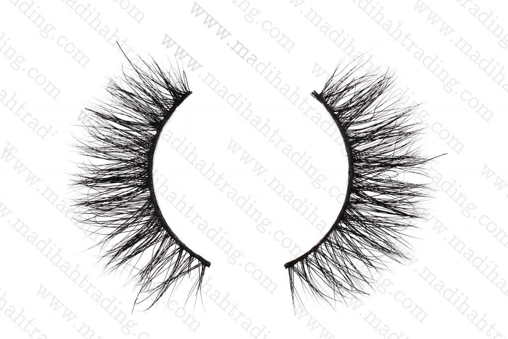 Madihah Trading best 3d mink fur eyelashes 3D-12 details 2.