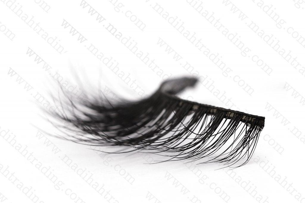 Madihah best 3d mink fur eyelashes 3D-13 details 4.