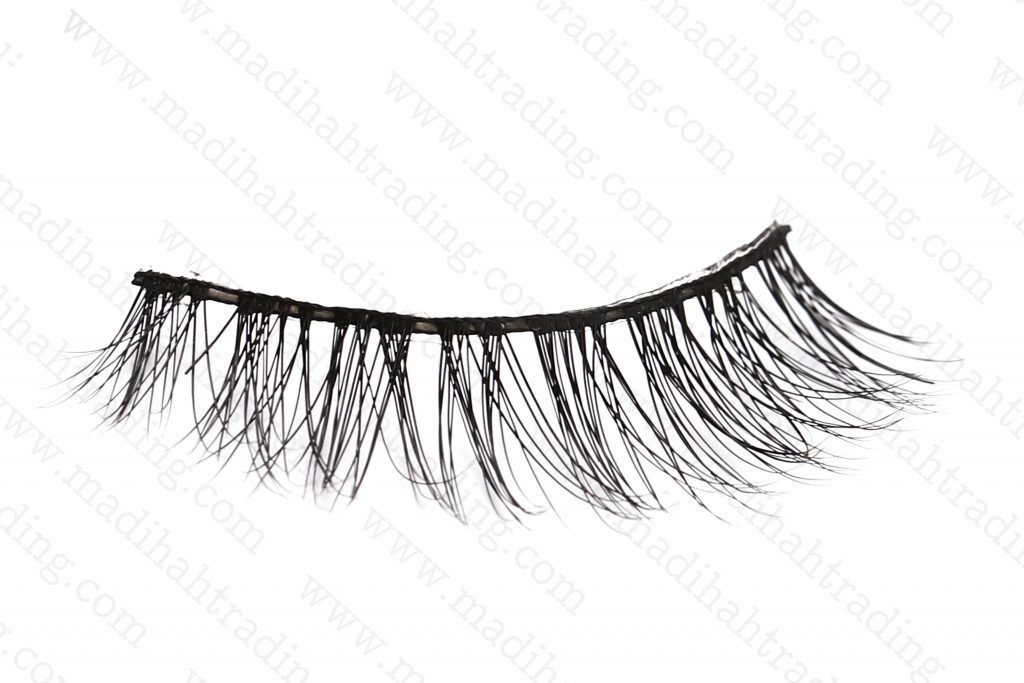 3d real mink fur eyelashes wholesale by Madihah Trading.
