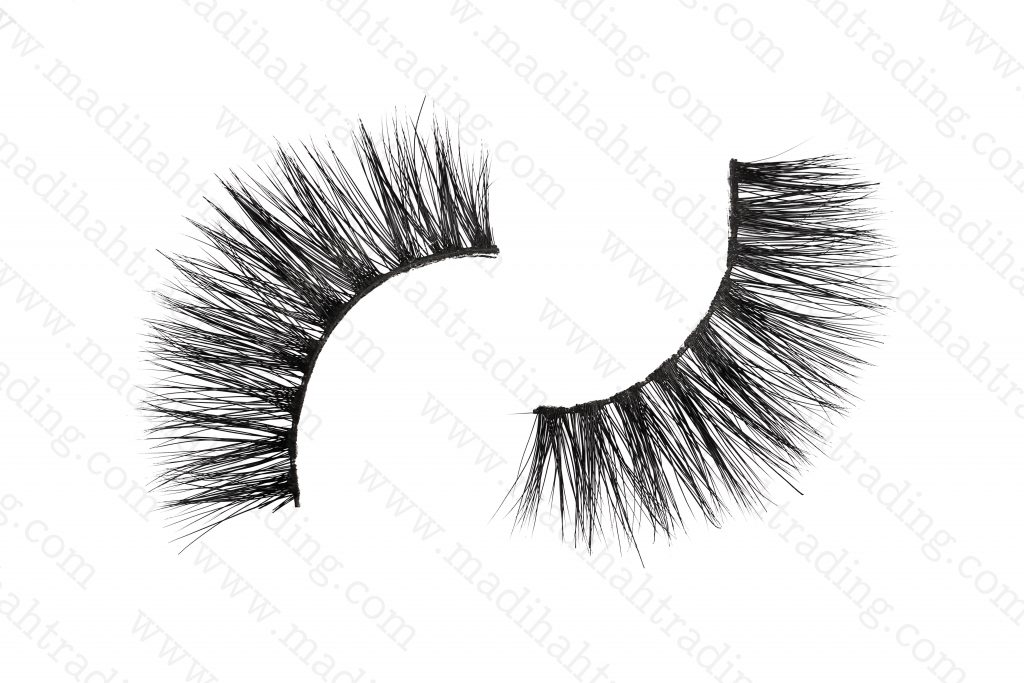 Madihah Trading 3d real mink fur eyelashes wholesale.