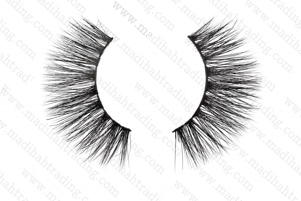 Madihah Trading mink fur eyelashes cruelty wholesale.