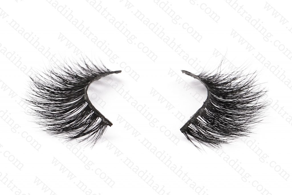 the best mink fur lashes buy from Madihah Trading.