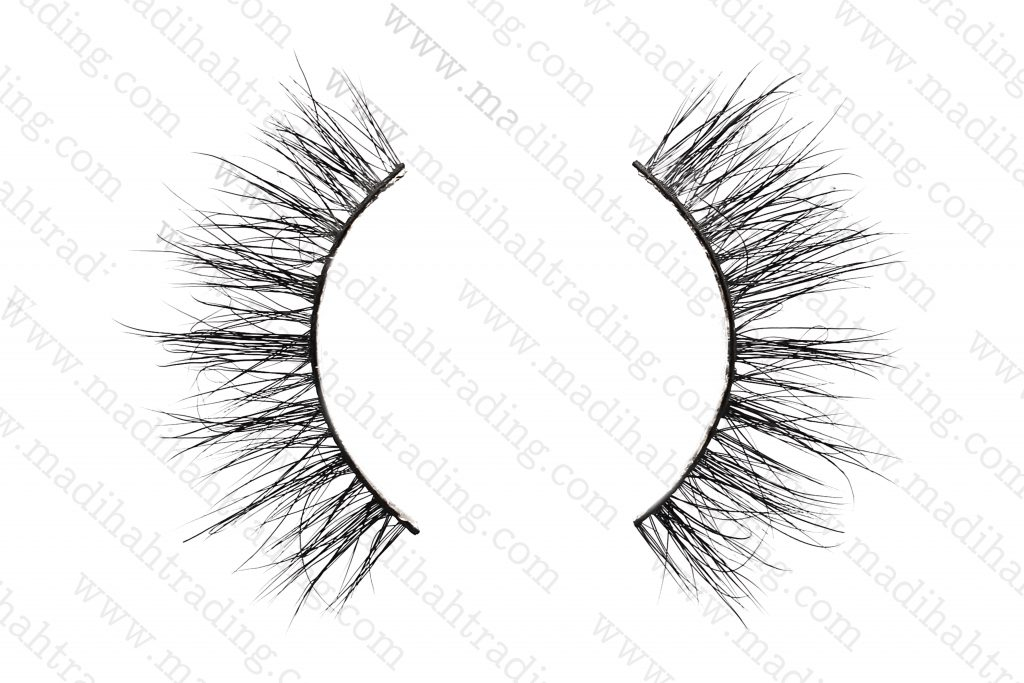 Madihah siberian mink lashes vendors wholesale best mink fur eyelashes.