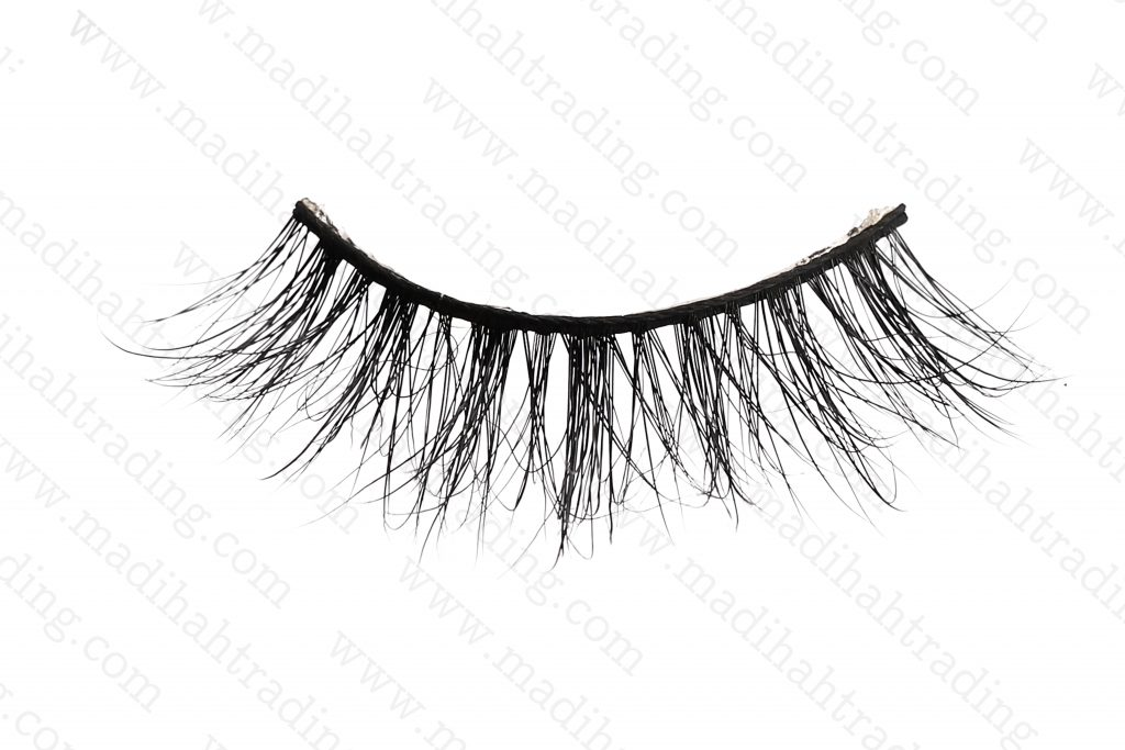 Madihah wholesale mink lashes and packaging in china.