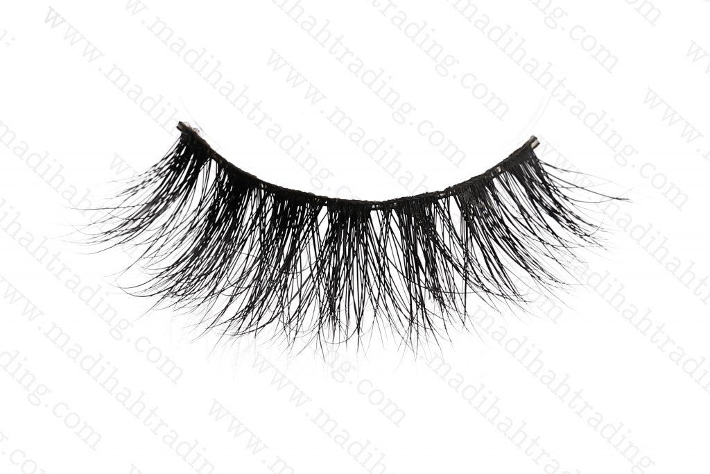 Madihah Trading 3d mink fur eyelashes wholesale.