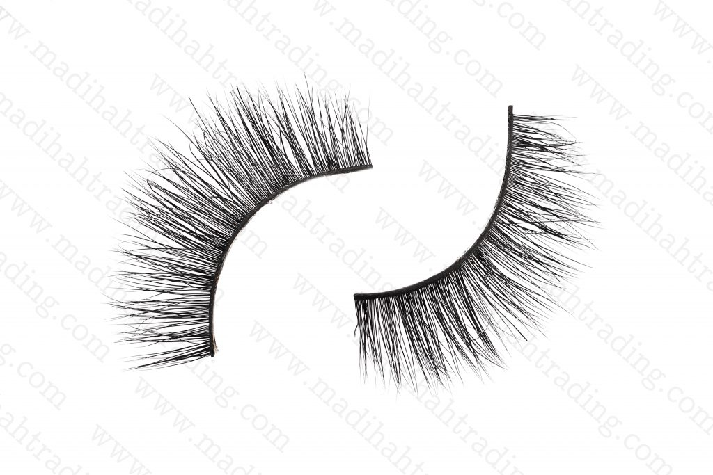 Madihah Trading siberian mink fur strip eyelashes wholesale.