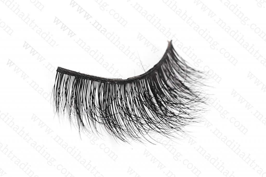 Madihah Trading wholesale real mink fur individual lashes.