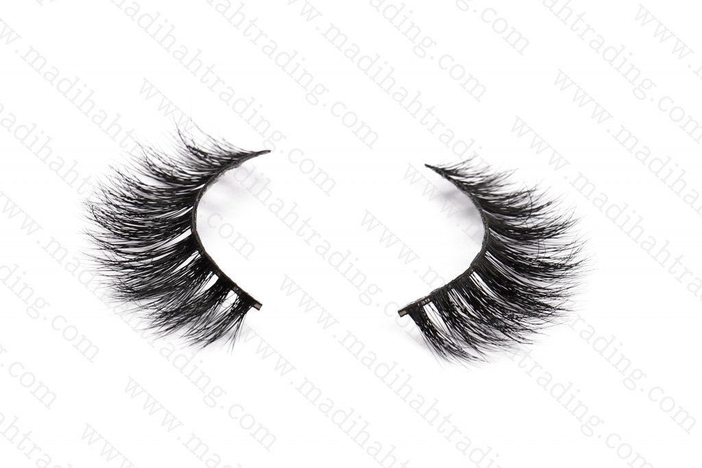 Madihah Trading 3d mink false eyelashes wholesale in china.
