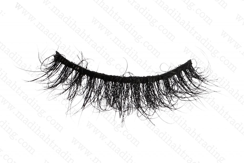 Madihah Trading wholesale siberian mink fur strip eyelashes in china.