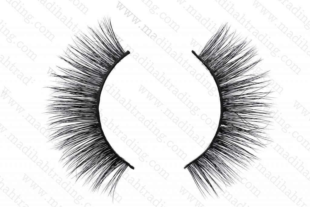 Madihah Trading mink eyelash manufacturer china produced best siberian mink fur lashes.