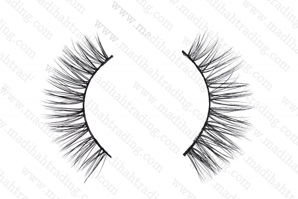 Madihah Trading custom siberian mink fur eyelash manufacturer in china.