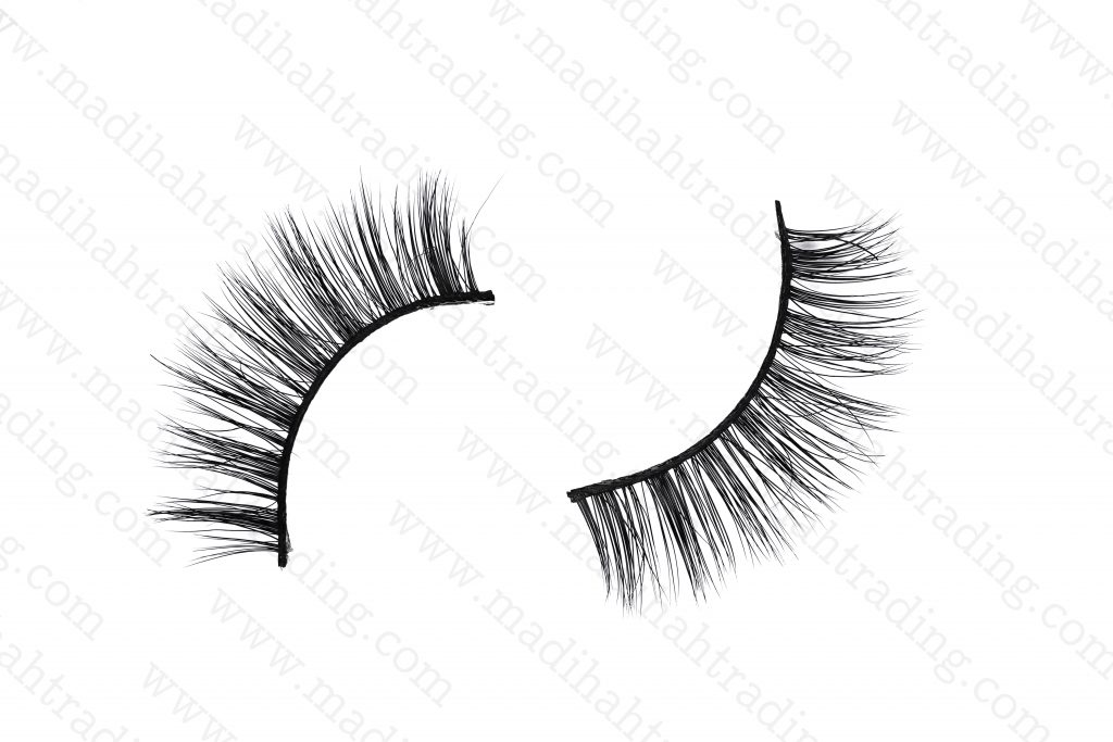 Madihah luxury mink eyelashes wholesale in china.