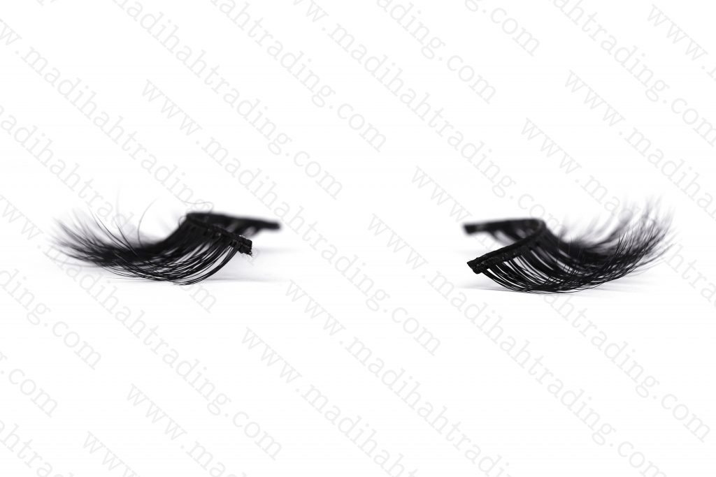 Madihah siberian mink 3d hair lashes wholesale.