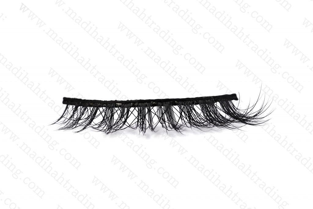 Madihah natural mink fur eyelashes wholesale.