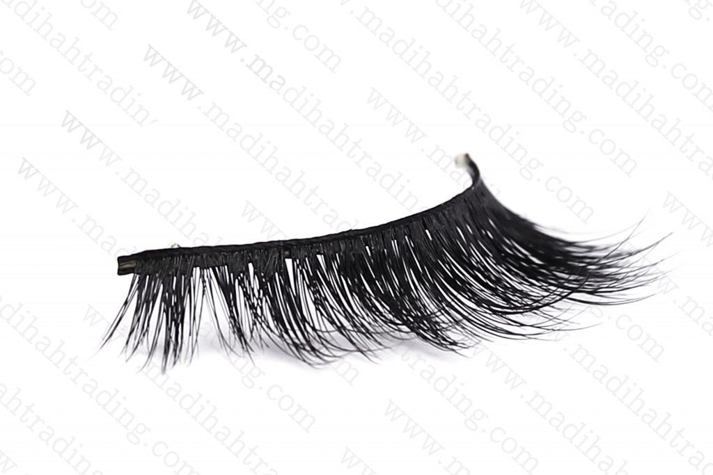 Madihah supply siberian mink eyelashes good price in amazon.