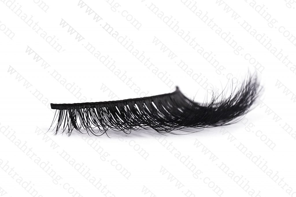 Madihah 3d lashes beauty supply siberian mink fur lashes try on in china.