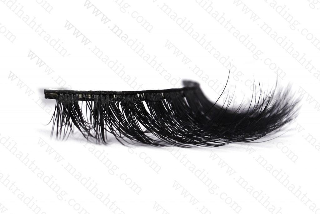 Madihah cruelty free siberian mink lashes wholesale in china.