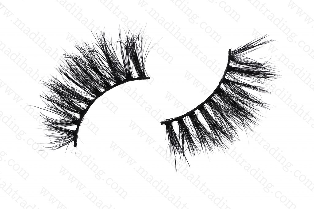 Madihah horse hair mink eyelash manufacturer china.