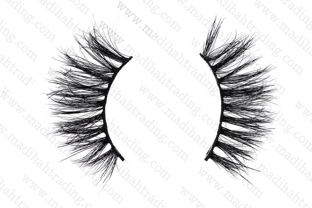 Madihah horse hair mink 3d hair lashes wholesale.