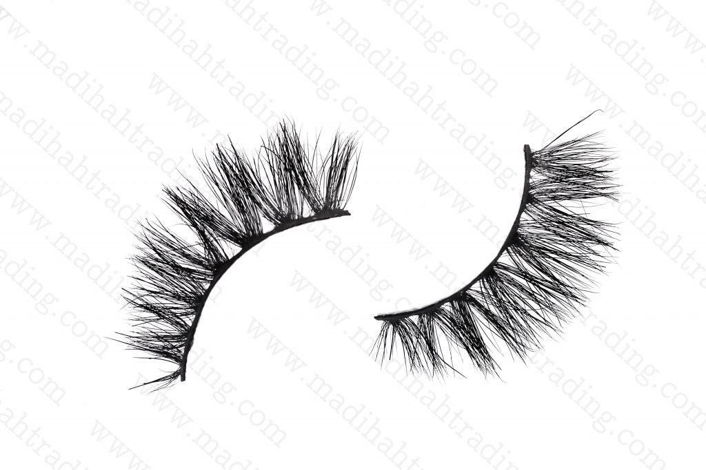 Madihah horse fur siberian mink eyelashes wholesale.
