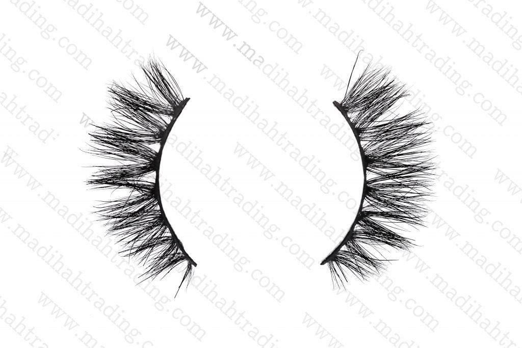 Madihah horse hair fashion eyelashes wholesale.