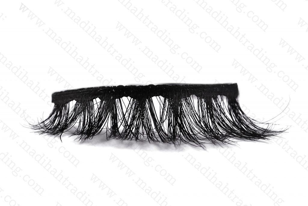 Madihah supply cheap horse hair eyelashes price in amazon.