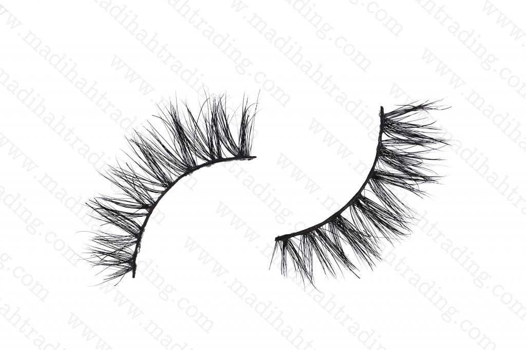 Madihah horse hair fashion eyelashes strip wholesale in china.