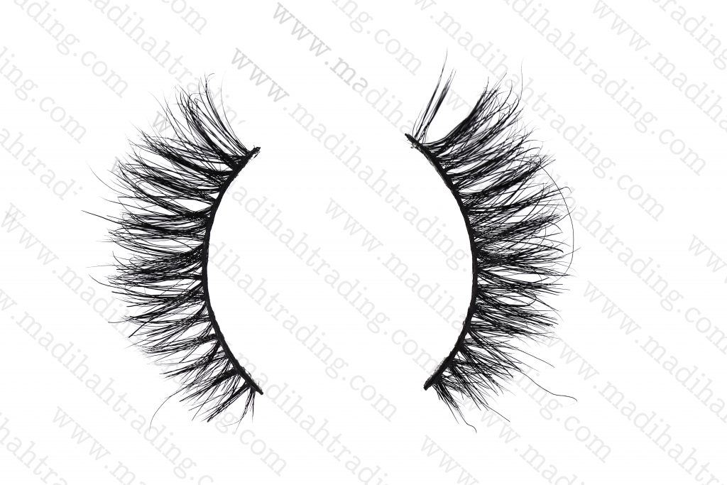 Madihah horse hair mink eyelash manufacturer china