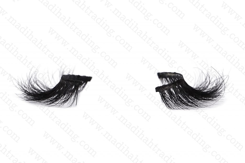 Madihah cruelty free horse fur mink lashes wholesale