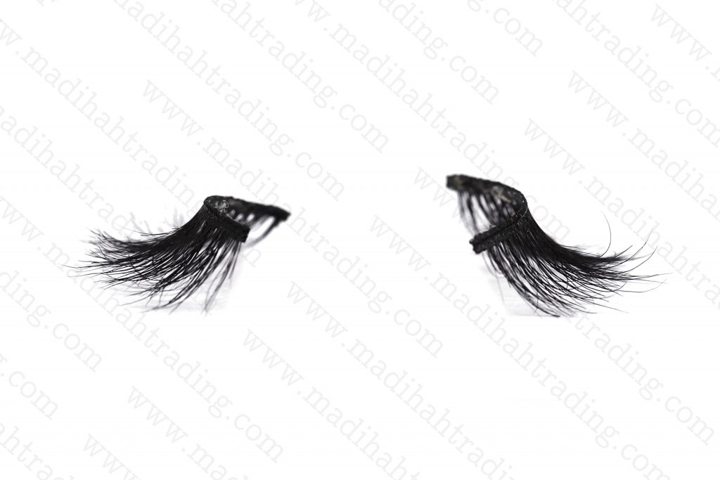 Madihah private label horse fur mink lash suppliers in china.