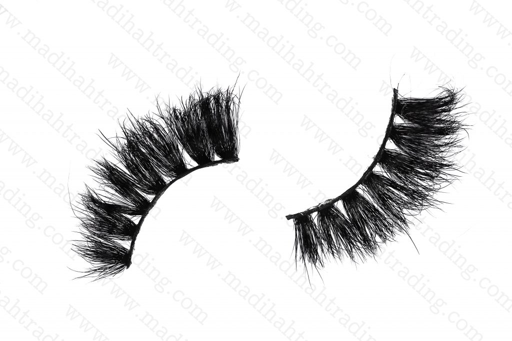 Madihah horse hair fashion eyelashes strip wholesale in china.