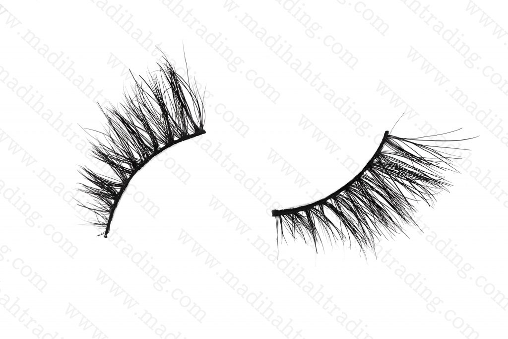 Madihah 10mm horse hair lashes AN26 details1.