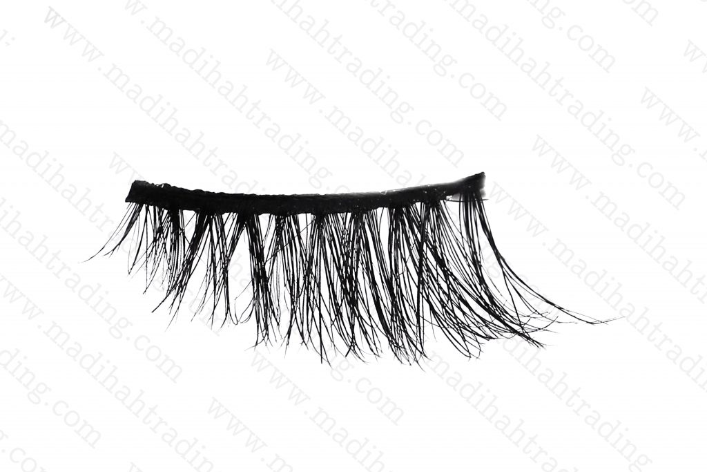 Madihah 10mm horse hair lashes AN26 details3.