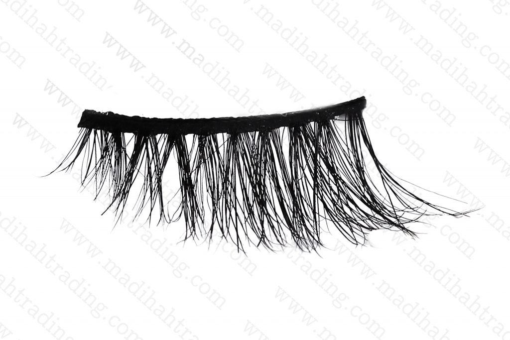 Madihah 10mm horse hair lashes AN26 details4.