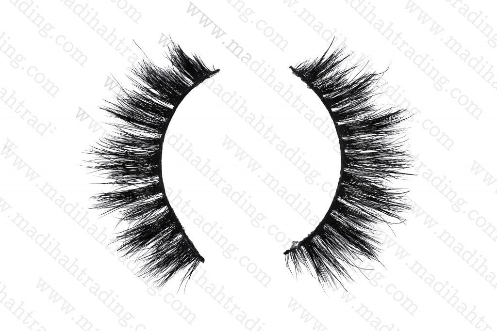 Madihah horse hair siberian mink fur eyelashes.