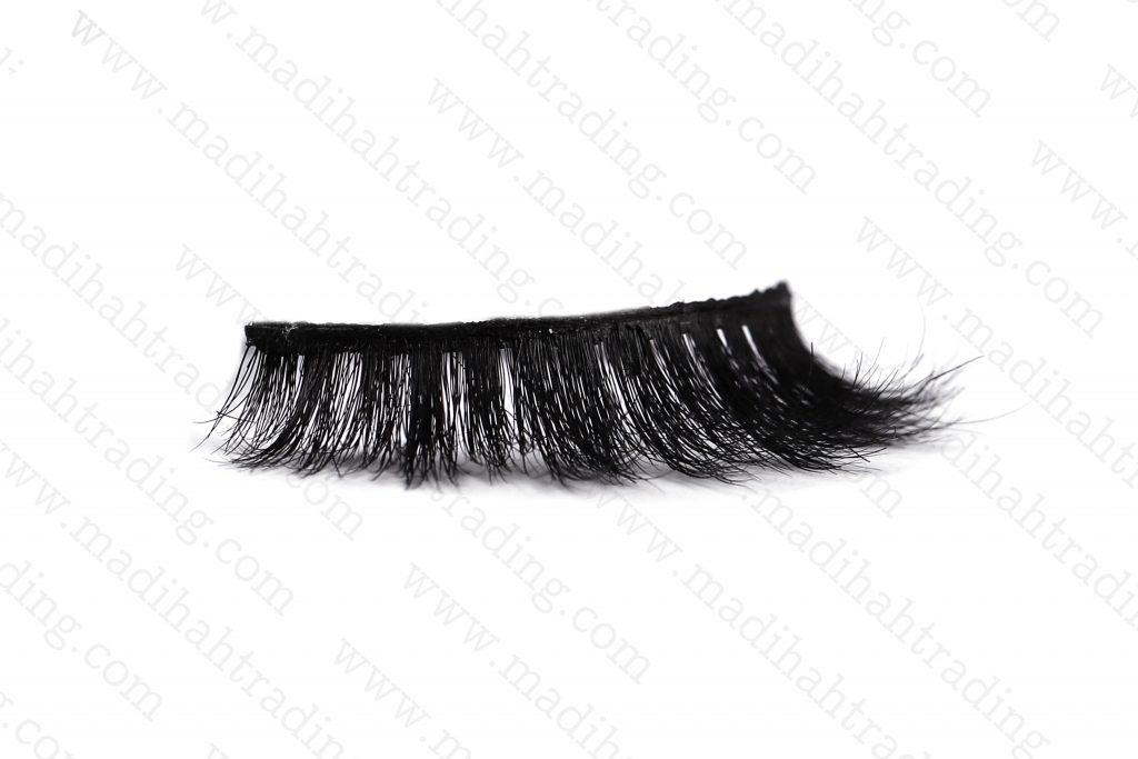 Madihah horse fur hair lashes reusable false eyelashes