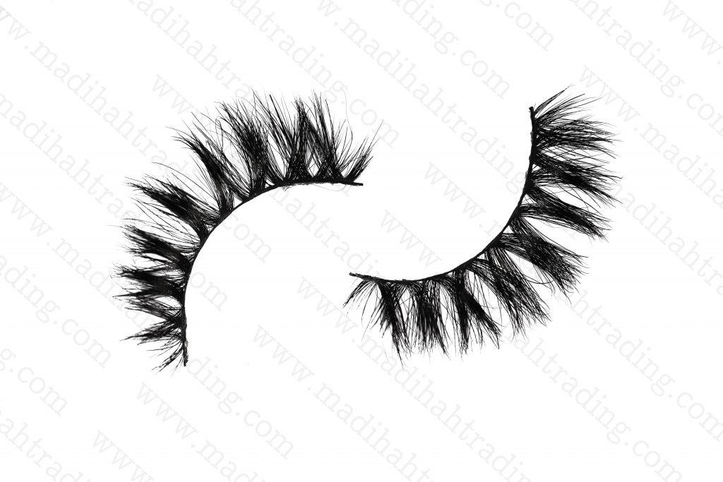 Madihah natural horse hair false eyelashes uk