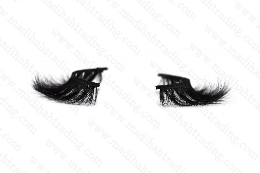 Madihah horse hair fashion eyelashes wholesale in china.